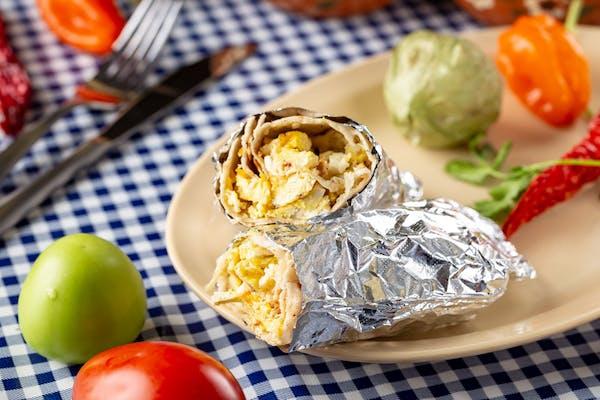 Egg A Lá Mex Breakfast Burrito