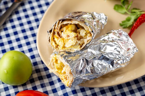 Potato & Egg Breakfast Burrito