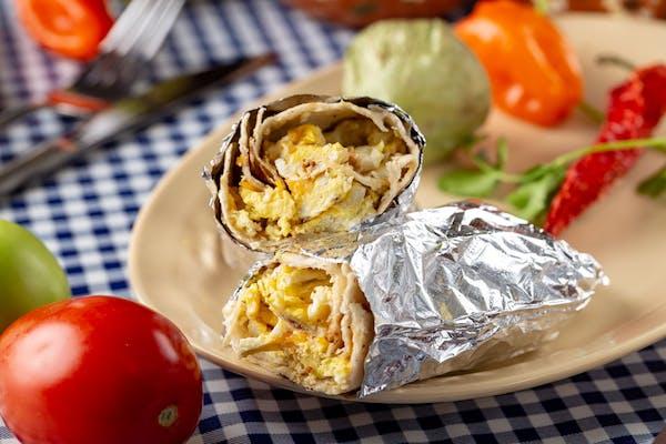 Spam & Potato Breakfast Burrito