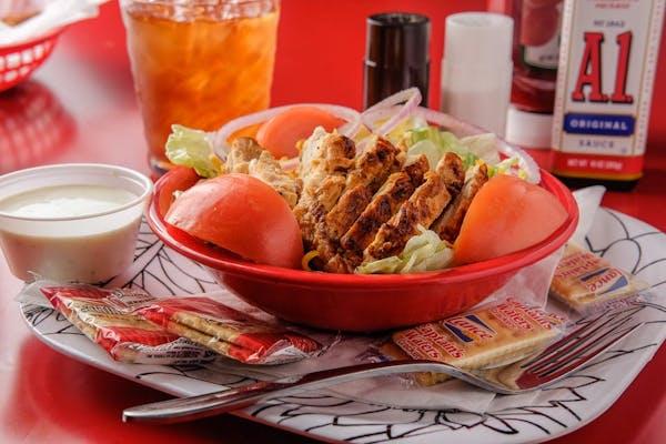 Grilled or Crispy Chicken Salad