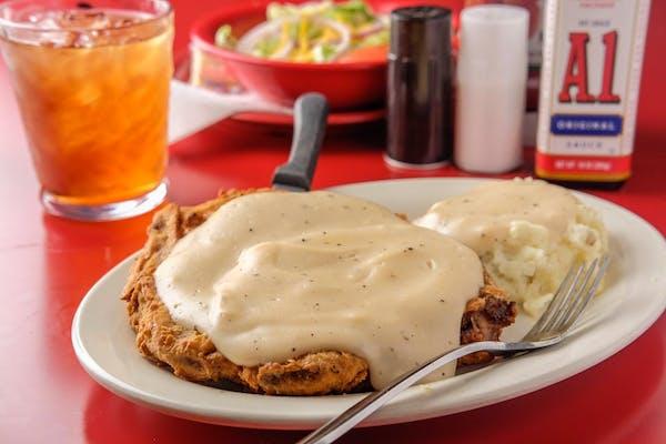 Chicken Fried Steak or Chicken