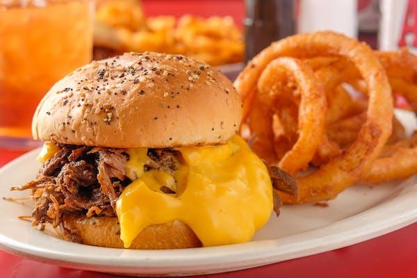 Beef N' Cheddar Sandwich