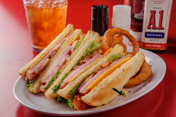 Cold Ham & Cheese Sandwich