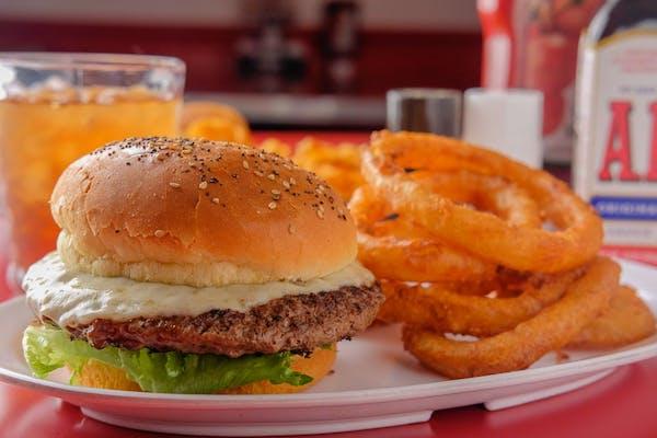 Off The Horn Bison Burger