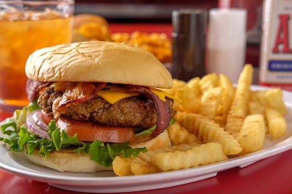 Jumbo Razorback Burger