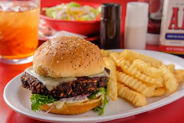 Johnny's Black Bean Burger