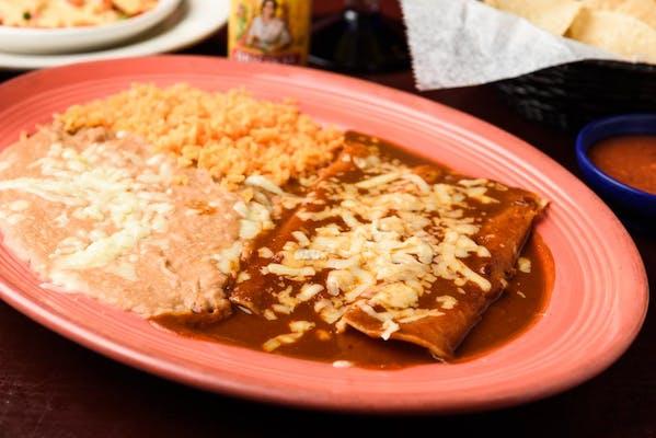 N6. Beef Enchilada