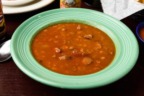 9. Charro Bean Soup
