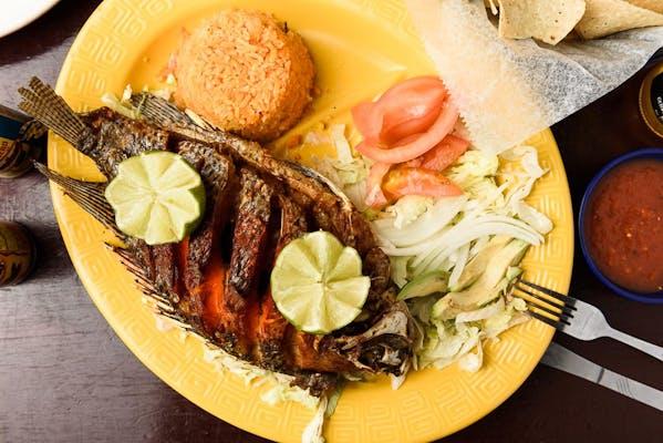 41. Mojarra Frita (Whole Fish)