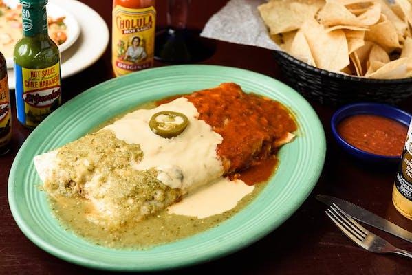 59. La Bandera Burrito