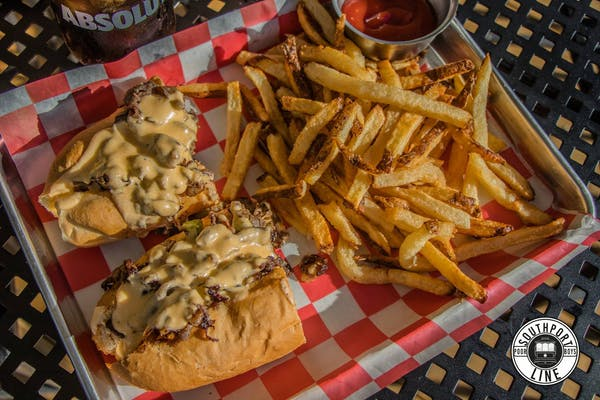Philly Cheesesteak Poboy