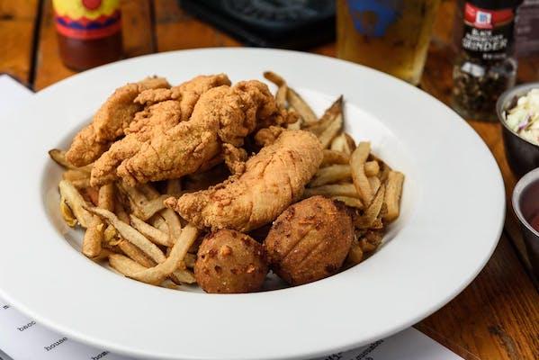 Hand-Breaded Chicken Tenders Basket