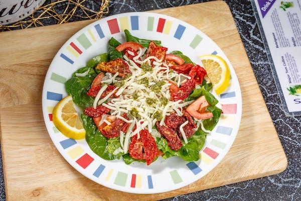 Basil & Sun-Dried Tomato Salad