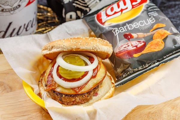 Smokey Gouda Bacon Burger