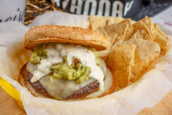 Guacamole & Cilantro Burger