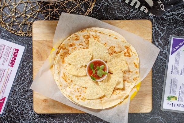 The Big Cheese Quesadilla