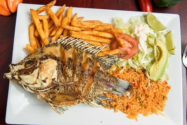 Whole Fried Tilapia