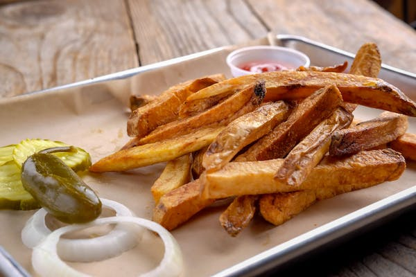Hand-Cut Seasoned Fries