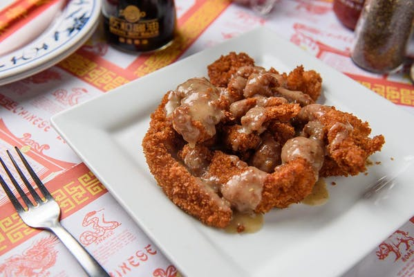 603. Almond Fried Chicken