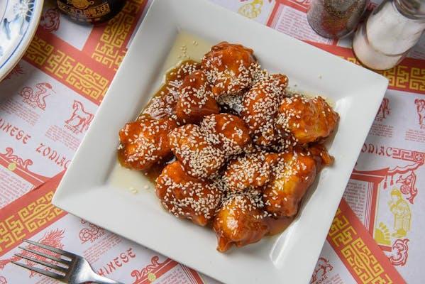 604. Sesame Chicken
