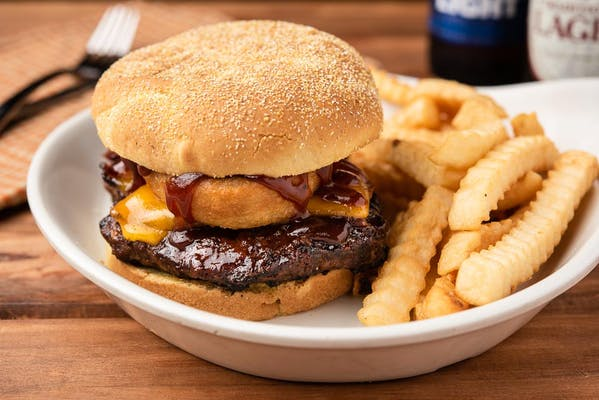 Western Barbecue Burger