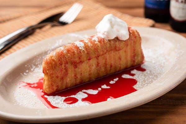 Deep-Fried Cheesecake