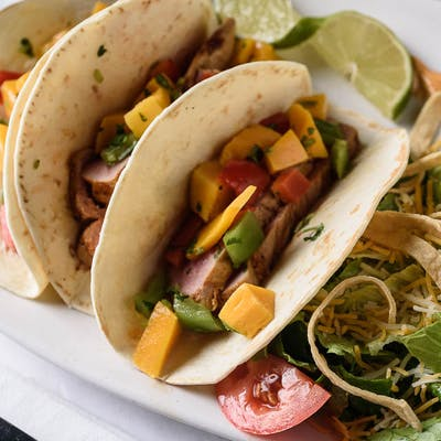 Seared Tuna Tacos