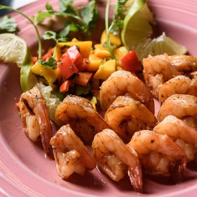 Lime Garlic Shrimp