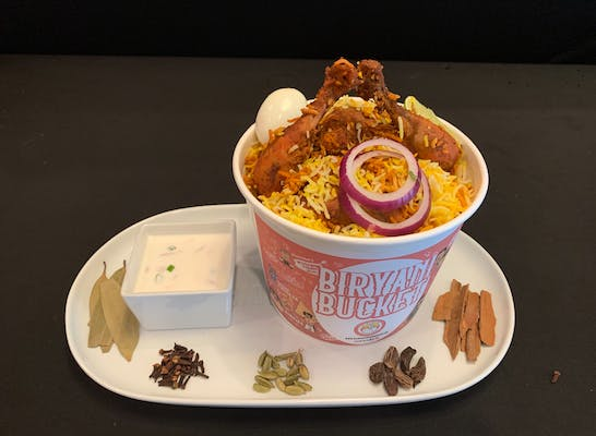 Chicken Dum Biryani Bucket