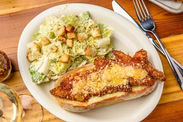 Chicken Parmesan Hoagie