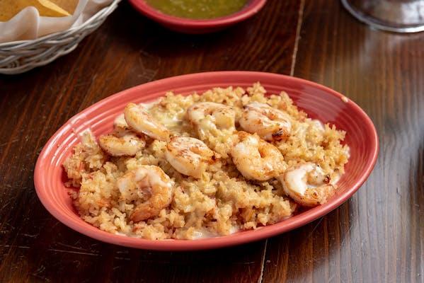 Grilled Shrimp & Rice