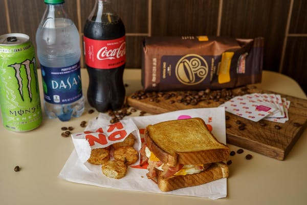 Bacon Big N' Toasted Coca-Cola Combo