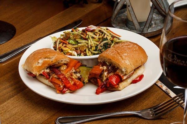 Veggie Dagwood Sandwich