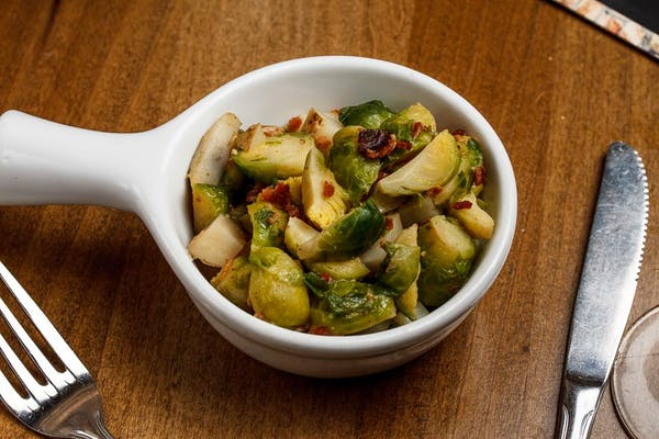 Brussels Sprout Potato Hash