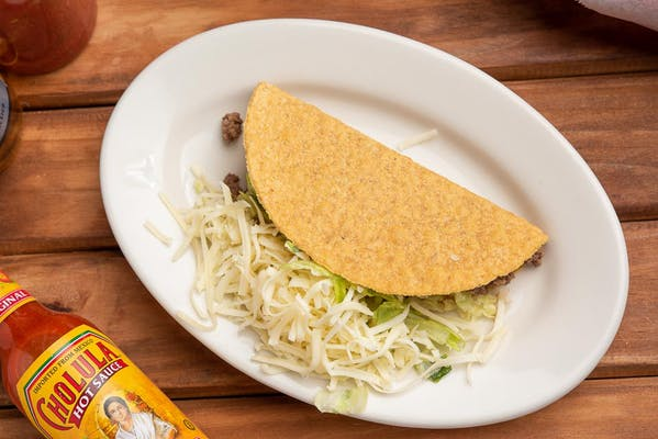 Chicken or Beef Hard Taco