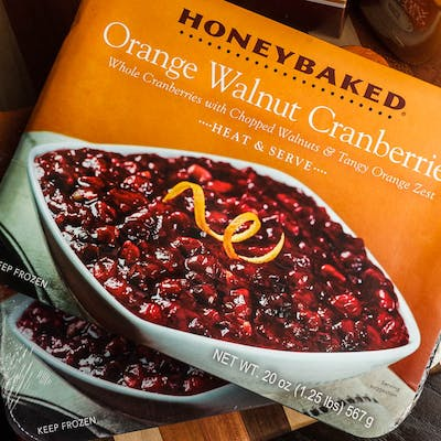 Orange Walnut Cranberries