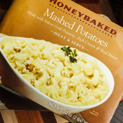 Yukon Mashed Potatoes