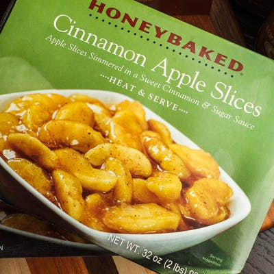 Cinnamon Apple Slices
