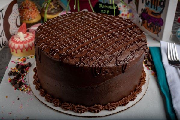 Twelve-Layer Fudge Cake