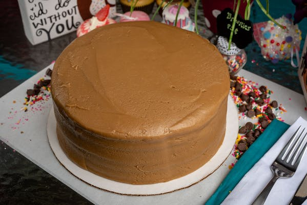 Seven-Layer Caramel Cake