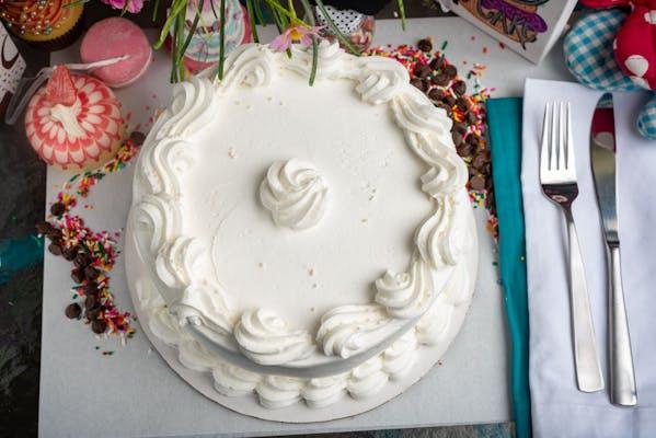 "(8"") Vanilla Cake"