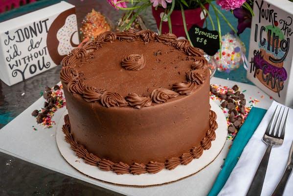 "(8"") Chocolate Cake"