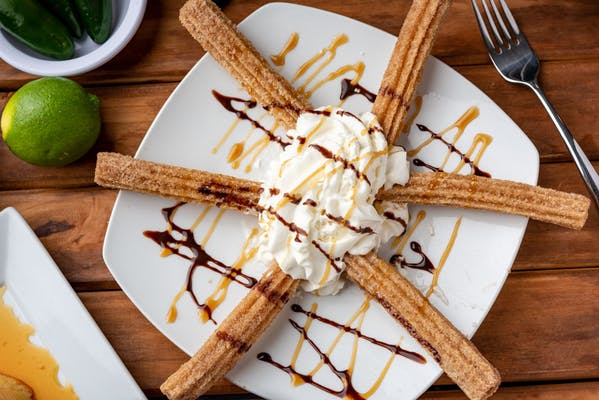 Churros with Ice Cream