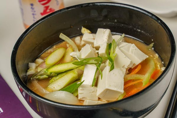 2. Spicy Miso Vegetable Soup