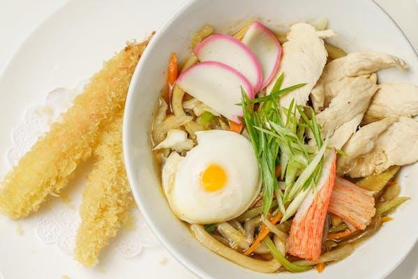 3. Nebe Yaki Udon (Soup)