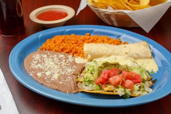 B. (1) Chalupa & (1) Cheese Enchilada