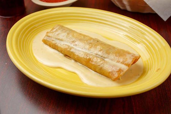 Fried Chicken Burrito