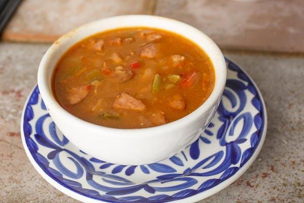 3. Charro Bean Soup