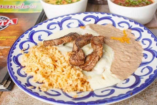 9. Steak Enchiladas