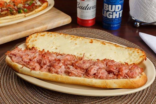 Hot Ham & Cheese Stromboli
